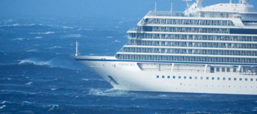 Desalojan un crucero en Noruega