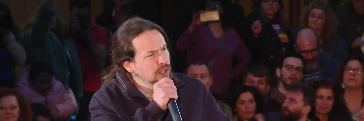 """Pablo Iglesias: """"Podemos ha decepcionado a mucha gente y no reconocerlo sería mentir"""""""