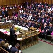 Imagen del Parlamento británico