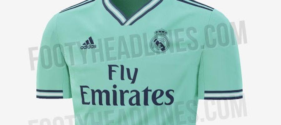 d65f75c16 La posible tercera equipación del Real Madrid para la próxima temporada