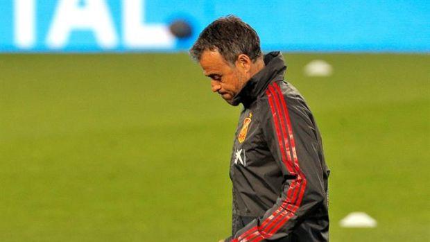 """Luis Enrique: """"¿Falta de gol? Llevamos una media de 2,7 goles por partido y el Barça de 2,6; no pinta mal..."""""""