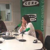 Lola Gorostiaga, presidenta del Parlamento de Cantabria