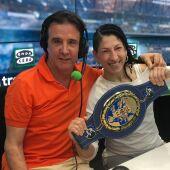 La boxeadora Miriam Gutiérrez.