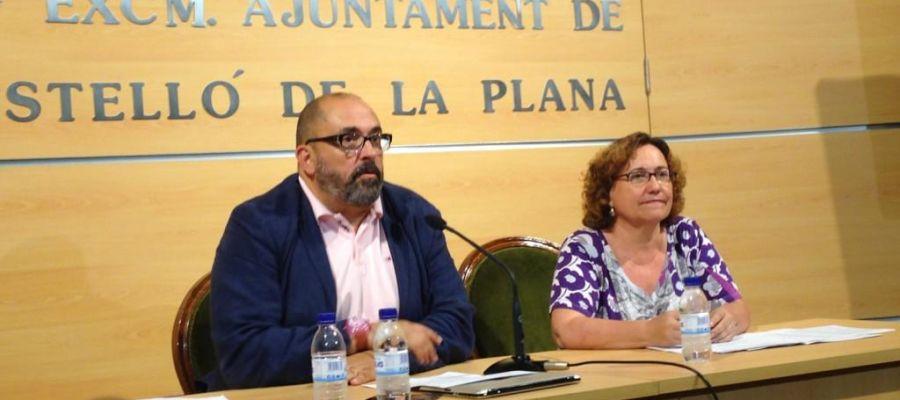 Enric Nomdedéu y Ali Brancal.