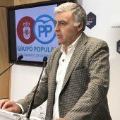 Pedro Martín, concejal del PP en el Ayuntamiento de Ciudad Real