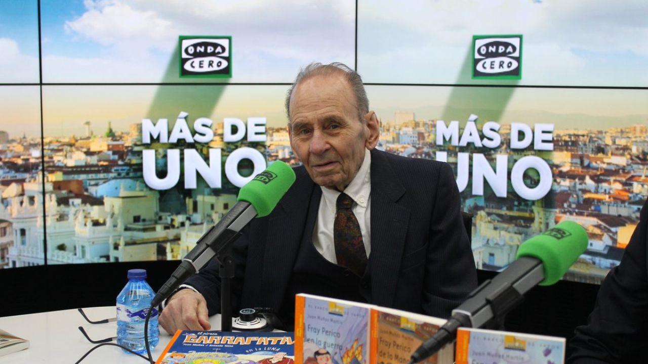 Juan Muñoz Martín Autor De Fray Perico Y Su Borrico Estoy Muy Orgulloso De Haber Escrito Libros Para Niños Onda Cero Radio