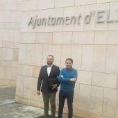 Juan Antonio Sempere y David Caballero se van de Ciudadanos Elche y se suman al partido político Contigo