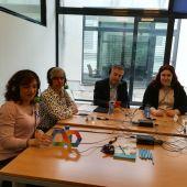 Tertulia sobre el autismo en el centro Aleph TEA