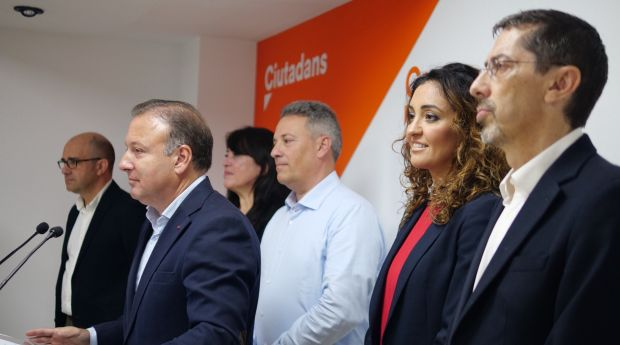 El cabeza de lista al Congreso por Ciudadanos, Joan Mesquida,