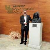 Juan José Ruiz, rector de la Universidad Miguel Hernández de Elche.