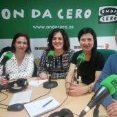La responsable de hacienda, Ana Arabic (PSOE), Vicente Granero (PP) y Eva Crisol (Ciudadanos) debaten sobre los informes de repato de la interventora municipal