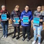 María José Ordóñez y Alma Vives -en el centro- forman parte del Sindicato de Inquilinos de Mallorca