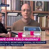 """Pablo Iglesias, sobre la detención de Ángel Hernández: """"Es indecente que alguien pueda ser detenido por un acto de humanidad al que todos tenemos derecho"""""""