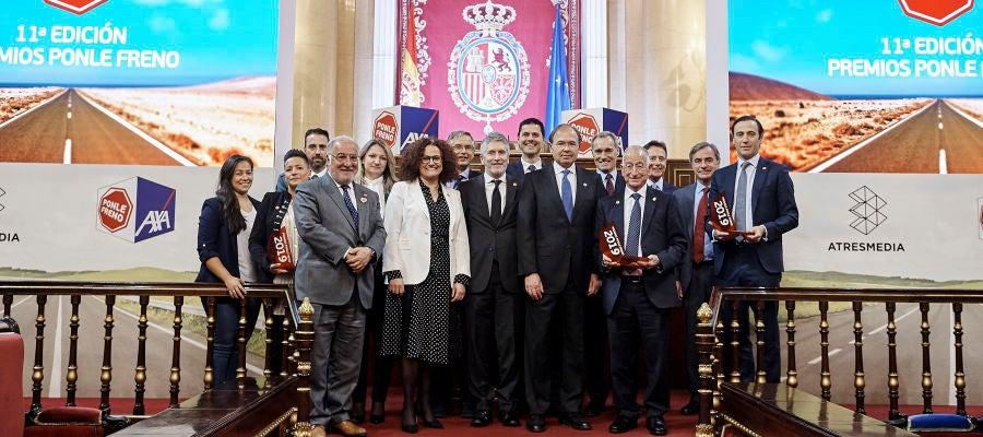Foto de familia de la 11ª edición de los Premios Ponle Freno