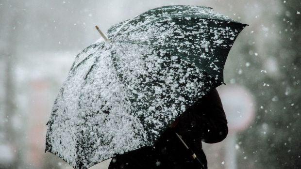 El viento, las lluvias y las nevadas marcan la jornada del miércoles
