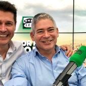 Jaime Cantizano con Boris Izaguirre