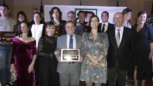 Galardonados con los II Premios Onda Cero Cantabria