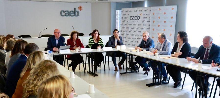 Antoni Riera, Carmen Planas, Francina Armengol y Iago Negueruela