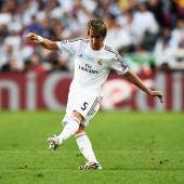 Coentrao, durante la final de Lisboa contra el Atlético de Madrid