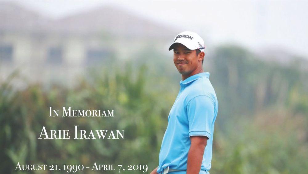 Fallece el golfista Arie Irawan