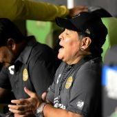 Maradona, entrenador del Dorados