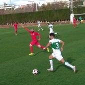 El Ilicitano cayó derrotado en el encuentro ante el Crevillente Deportivo (0-1).