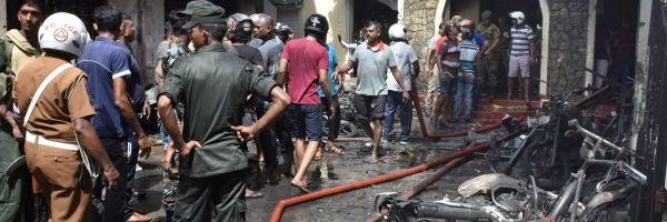 Las autoridades de Sri Lanka reducen el número de muertos en los atentados a 253