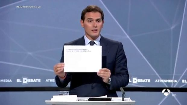Albert Rivera enumera las nueve reformas educativas para pedir un pacto educativo