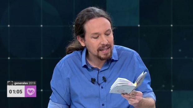"""Las preguntas de Amón: """"¿Temisteis en algún momento que Iglesias nos fuera a leer la Constitución entera?"""""""