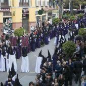 Uno de los desfiles de Semana Santa en Cuenca, en una imagen de archivo