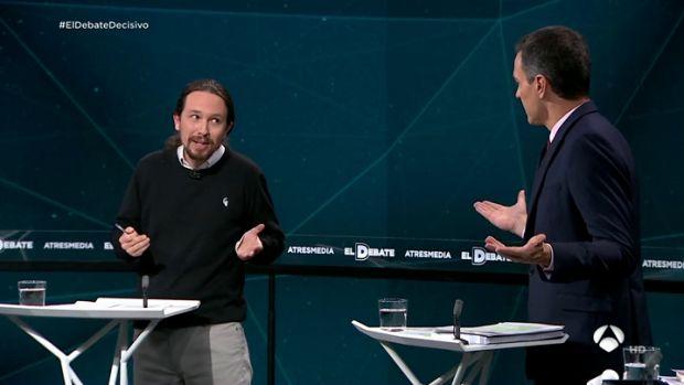 Rifirrafe entre Pedro Sánchez y Pablo Iglesias sobre la correcta gestión de las pensiones