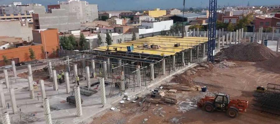 Obras del Regina Violant de Almassora.