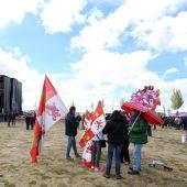 Miles de personas asisten en Villalar de los Comuneros (Valladolid) a la celebración del Día de Castilla y León 2019