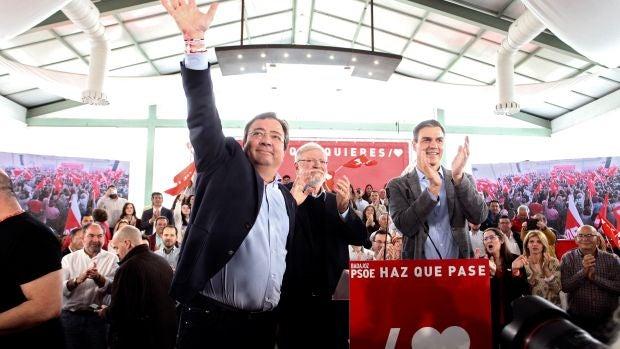 """Rodríguez Ibarra: """"Si se forma Gobierno con Podemos, ERC y los independentistas, me iré del PSOE"""""""