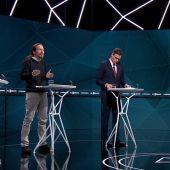Los cuatro candidatos en el debate decisivo al descubierto