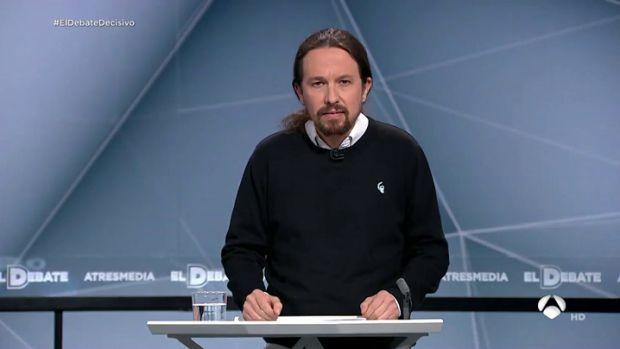 """Pablo Iglesias: """"Cuando la gente se mueve cambian las cosas y el 28 de abril la historia la escribes tú"""""""