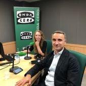 El número uno al Congreso de los Diputados por el PSOE Baleares, Pere Joan Pons, en Onda Cero Mallorca.
