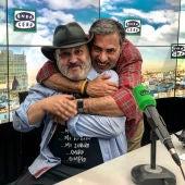 Alberto Granados con Sacha Hormaechea