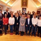 Foto de familia de la corporación municipal del Ayuntamiento de Ciudad Real