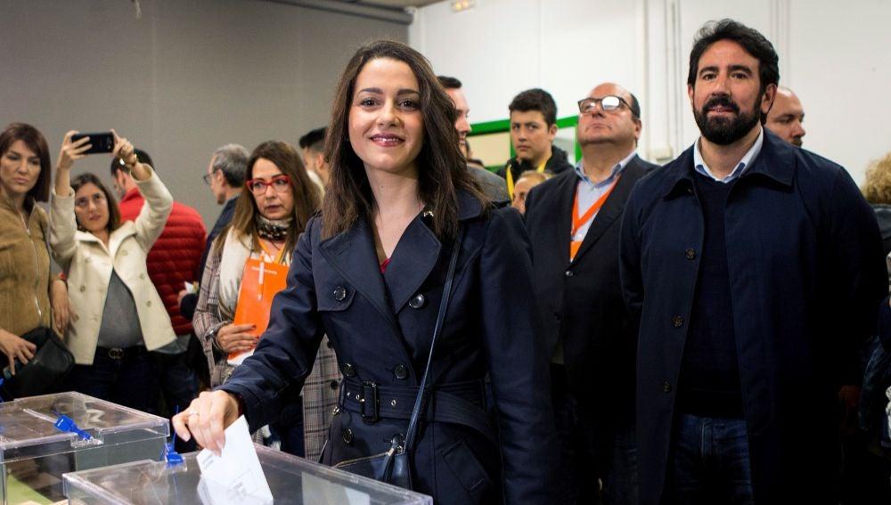 La candidata de Cs al Congreso por Barcelona, Inés Arrimadas,