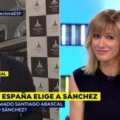 El comentario de Susanna Griso que ha ruborizado a Santiago Abascal