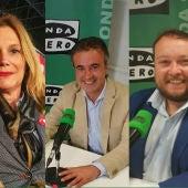 Luis Clemente, María Jesús Calva, Diego Movellán, Rubén Gómez y José María Mazón