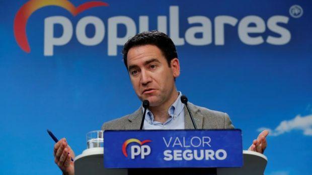 """García Egea: """"Tiene toda la pinta que con la mayoría PSOE-Podemos en la Mesa no se suspenderá a los presos"""""""