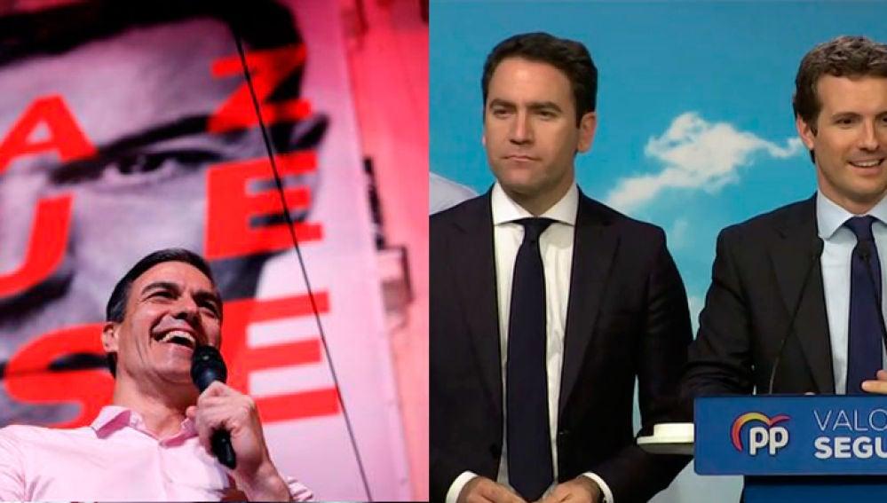 Pedro Sánchez gana las elecciones y Pablo Casado registra el peor resultado de la historia del PP