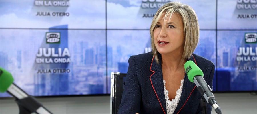 Julia Otero en el Estudio