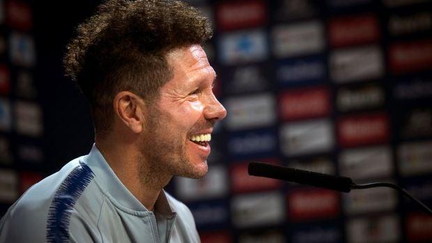 """Simeone agradece a Griezmann sus cinco años: """"Fue intachable como futbolista y lo quiero mucho"""""""