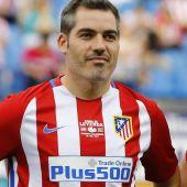 El lateral del Atlético de Madrid, Antonio López.