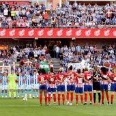 Minuto de silencio por Alfredo Pérez Rubalcaba en la final de la Copa de la reina