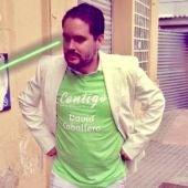 David Caballero, aspirante a la alcaldía de Elche.