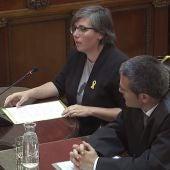 Mireia Boya declara en el juicio del procés
